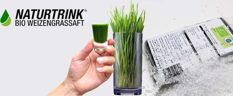 Naturtrink Bio Weizengras