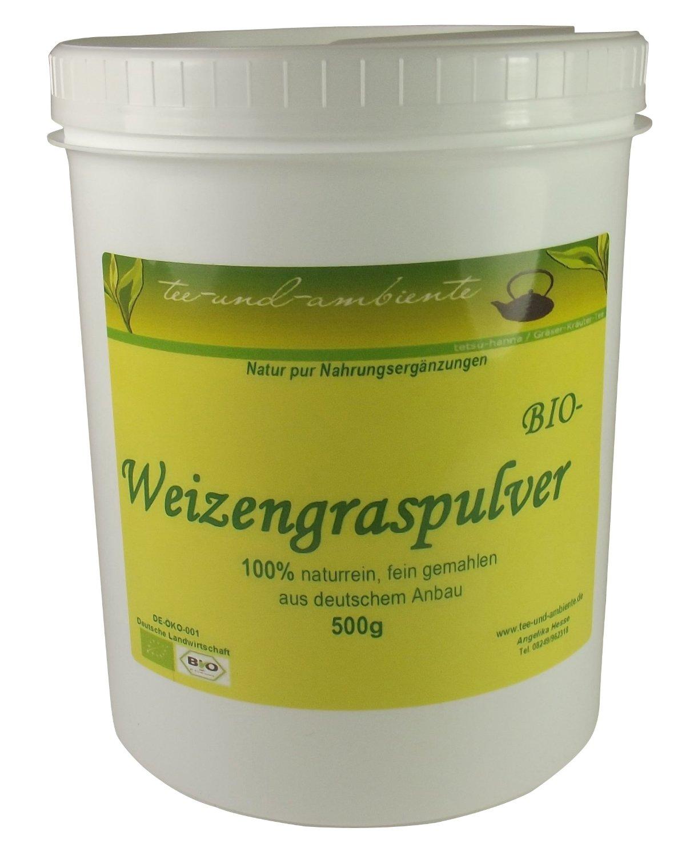 BIO Weizengraspulver 100% naturrein für Slow Juicer